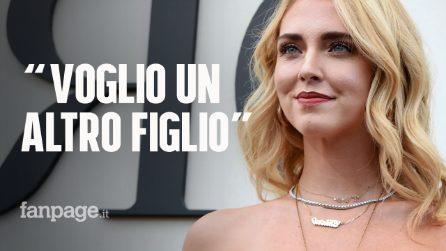 """Chiara Ferragni: """"Voglio un secondo figlio"""" e a ottobre uscirà il docufilm sulla sua vita"""