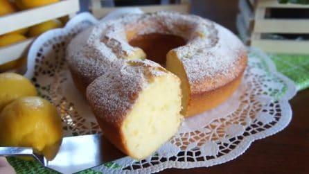 Ciambellone soffice al limone e yogurt: la ricetta perfetta per un dolce goloso