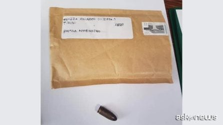 A Torino busta con proiettile inviata ad Appendino in Comune