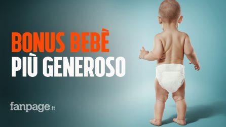 Bonus bebè più generoso, detrazioni per latte e pannolini: ecco le nuove misure per la famiglia