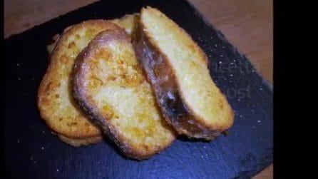Come preparare il pane fritto con le uova: la ricetta semplice e veloce