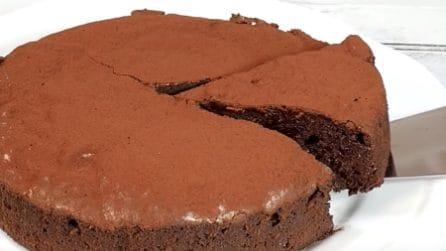 Torta ganache al cioccolato: un'esplosione di gusto al primo assaggio