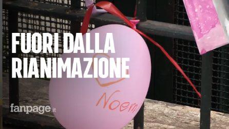 Napoli, Noemi lascia la Rianimazione: può finalmente stare con mamma e papà