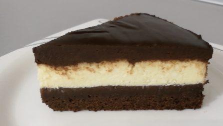 Cheesecake brownie: il dessert cremoso che renderà felici grandi e piccini