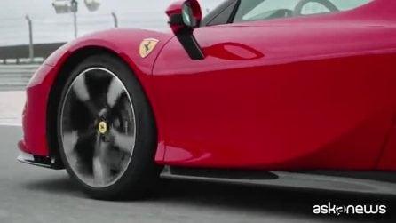 Ferrari al debutto con l'auto ibrida, nasce la SF90 Stradale