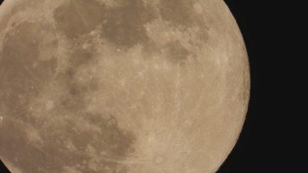 La Luna Blu dei Fiori splende nei cieli italiani: le immagini spettacolari