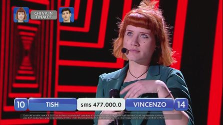 Amici 2019, Tish canta 'Walk all over you'