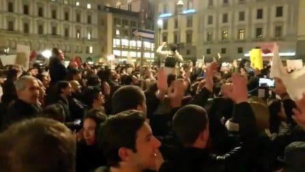 Firenze, proteste contro Matteo Salvini: tensione con le forze dell'ordine