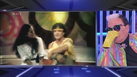 Barbara d'urso e Cristiano Malgioglio nel 1982