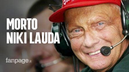 Morto Niki Lauda: addio alla leggenda della Formula 1. La nuova vita dopo l'incidente