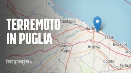 Terremoto oggi in Puglia, avvertito a Bari e in provincia di Barletta-Andria-Trani: scuole evacuate