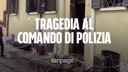 Mirandola: incendio doloso al comando della Polizia Municipale, due morti e tre feriti gravi