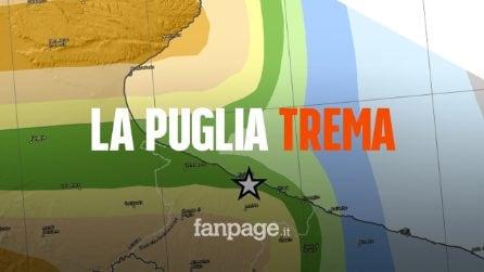 """Terremoto in Puglia avvertito a Bari, l'esperto dell'INGV: """"Non si escludono repliche"""""""
