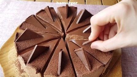 Cheesecake al cioccolato: il dessert senza cottura che vi delizierà
