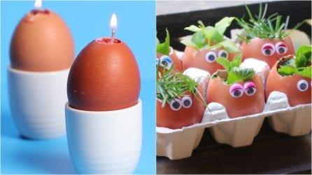 Non buttare i gusci delle uova, ecco 3 modi geniali per riciclarli!