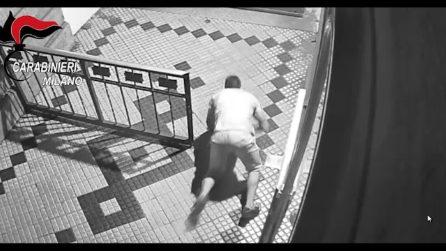 Milano, 9 arresti per furti in appartamento: le immagini dei ladri in azione