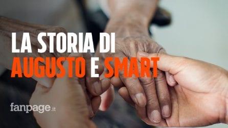 Pensionato povero e migrante cieco vanno a vivere insieme: la storia di Augusto e Smart