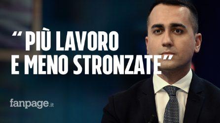 """Abuso d'ufficio, Di Maio attacca ancora Salvini: """"Più lavoro e meno stronzate"""""""