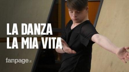"""Paolo Nicolosi, il ballerino con la sindrome di Down: """"Dobbiamo accettare di essere noi stessi"""""""