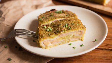 Rotolo cremoso di zucchine: la ricetta deliziosa per una cenetta da leccarsi i baffi!