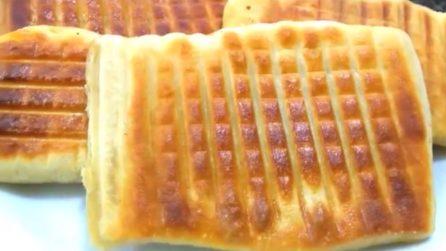 Focaccine ripiene senza forno: la merenda saporita per grandi e piccini