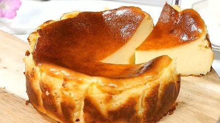 Torta al formaggio super golosa: il dessert che conquisterà tutti