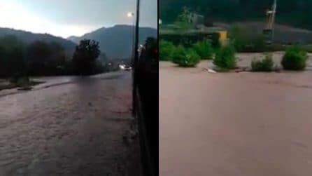 Maltempo, grandine e nubifragi su Brescia: strade allagate e traffico in tilt