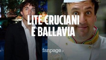 """Lite tra Germano Bellavia e Giuseppe Cruciani a La Zanzara: """"Mi scuso anche con i napoletani"""""""