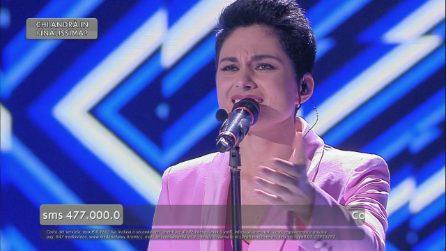 """La finale di Amici, Giordana canta """"Il regalo più grande"""""""