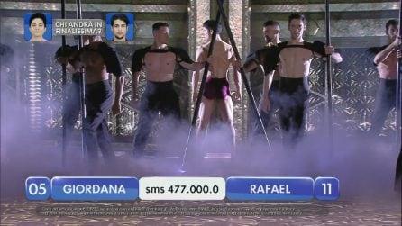 Finale di Amici, la sfida tra Giordana e Rafael