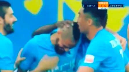 I tifosi del Napoli così non lo hanno mai visto: Hamsik cambia look e segna il primo gol
