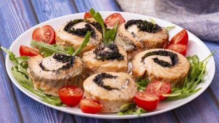 Rotolo di salmone: una ricetta tanto sfiziosa quanto facile da realizzare!