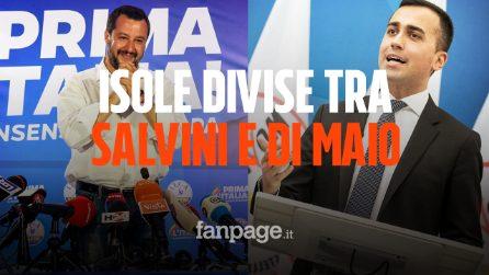 Elezioni Europee 2019: In Sicilia comanda il M5S con Luigi Di Maio, a Matteo Salvini la Sardegna