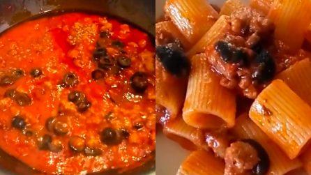 Sugo di salsicce e olive: un primo piatto originale