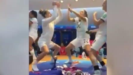 Argentina, dopo la gara ecco cosa accade negli spogliatoi delle ragazze