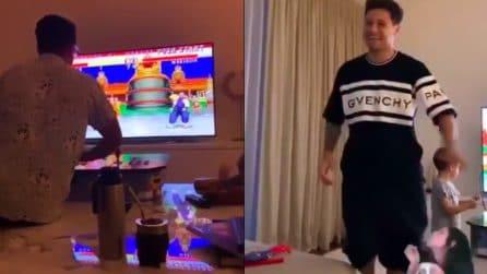 Mauro Zarate e i videogames: l'attaccante imita Street Fighter nella realtà