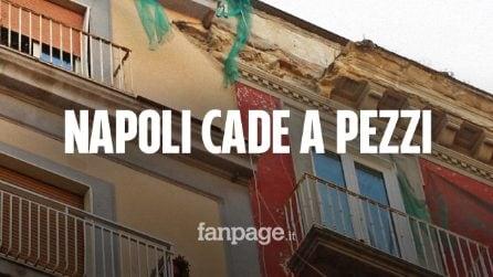 Napoli cade a pezzi, quali sono le zone a rischio e come tutelarsi