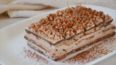 Semifreddo wafer: il dolce buono, fresco e facile da preparare