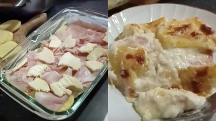 Parmigiana di patate: un piatto filante, gustoso e pronto velocemente