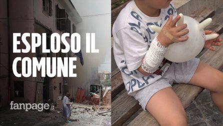 """Rocca di Papa, esplosione di gas al Comune: """"Calore infernale, sindaco l'ultimo a uscire"""""""