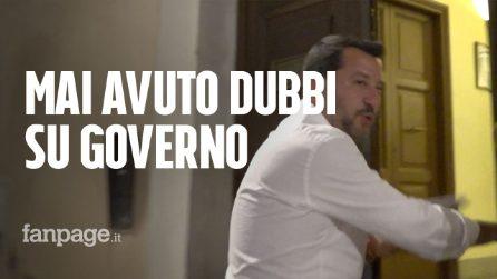 """Vertice Conte con Salvini e Di Maio. Leader Lega: """"Il governo va avanti"""""""