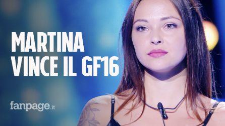 """Grande Fratello 2019: la vincitrice è Martina Nasoni, """"la ragazza con il cuore di latta"""" di Irama"""
