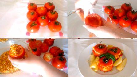 Pomodori ripieni di riso: come preparare la ricetta estiva semplice e leggera