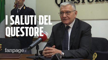 Il Questore Antonio De Iesu saluta Napoli ricordando i casi di Noemi, Arturo e Marco Di Lauro