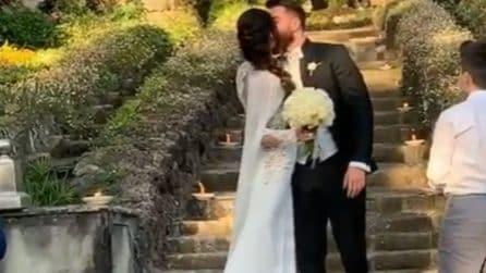 Lorella Boccia e Niccolò Presta sposi: le immagini del matrimonio