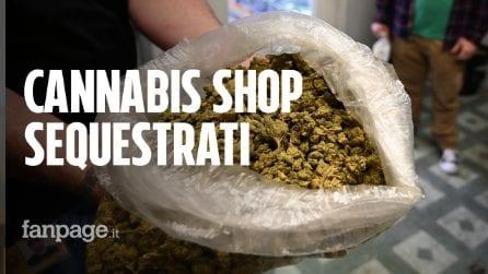 Cannabis light: sequestrati i primi negozi dopo la sentenza della Cassazione