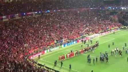 Liverpool campione d'Europa: 'You'll never walk alone' è più spettacolare che mai