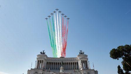 Festa della Repubblica: lo spettacolo delle Frecce Tricolori