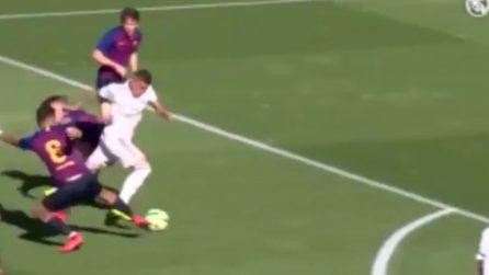 Come Ronaldo il Fenomeno: l'azione travolgente di Rodrigo, gol fantastico nel Clasico
