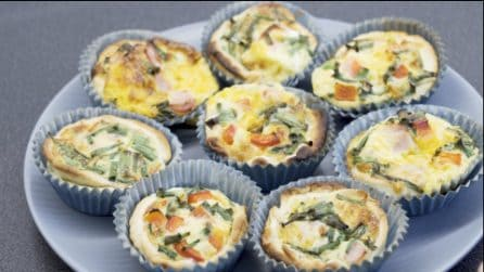Mini quiche: perfette come antipasto o per un buffet fatto in casa!